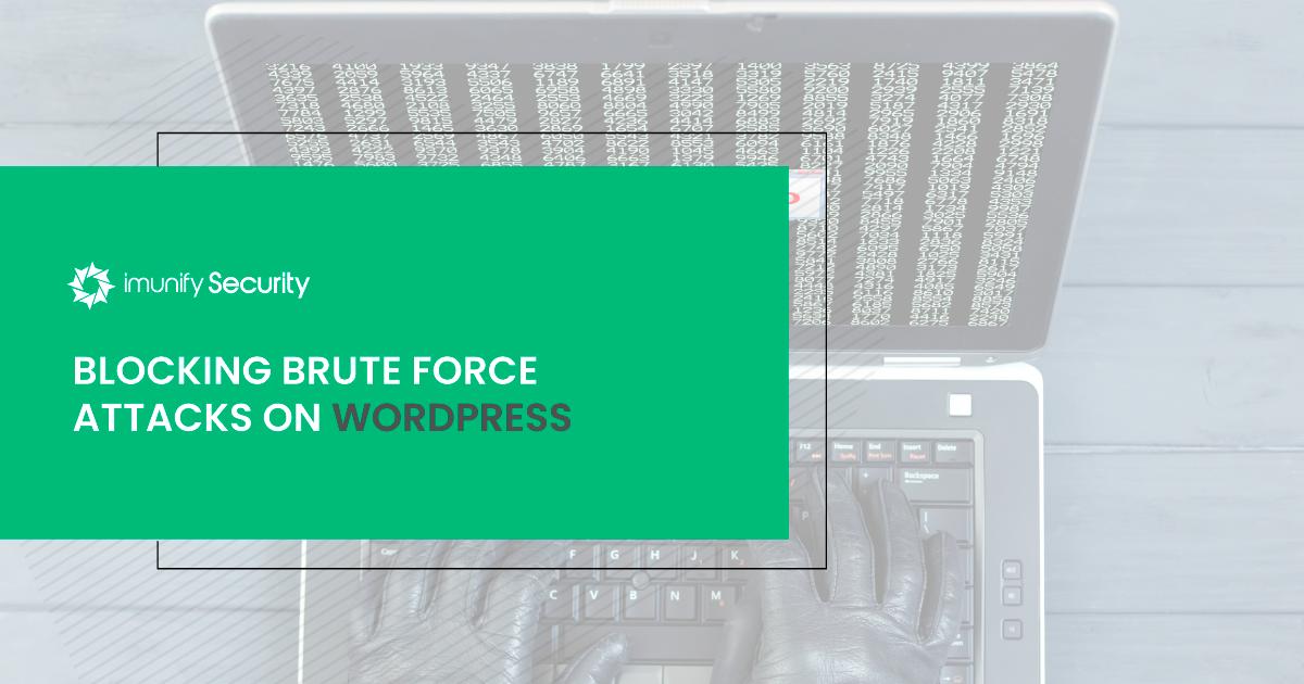 brute force wordpress imunify360