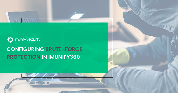 configuring brute force protection in Imunify360