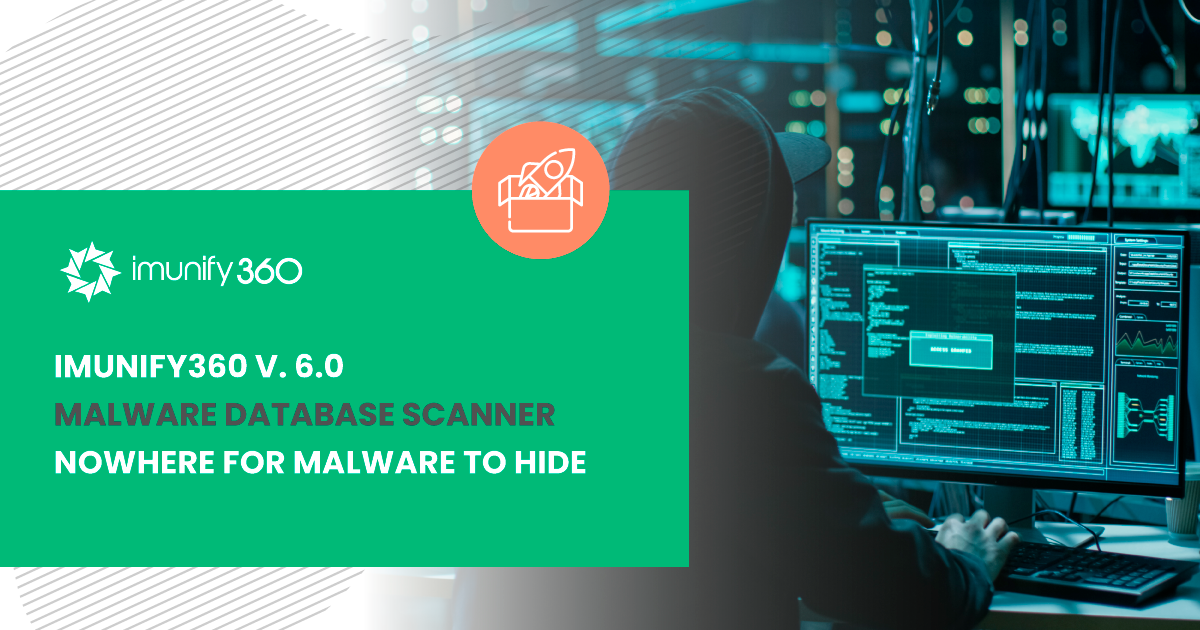Imunify360 v.6.0 Malware Database Scanner