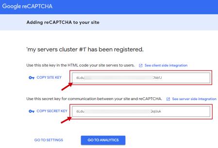 adding reCaptcha to your site