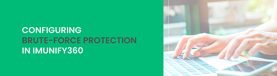 configuring brute force protection in Imunify