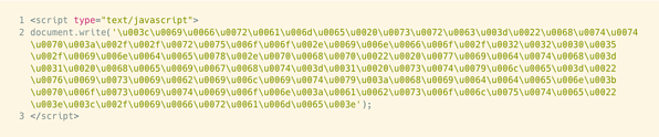obfuscate htlml example 4a