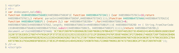 obfuscate htlml example 6