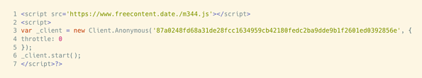 obfuscate htlml example 7