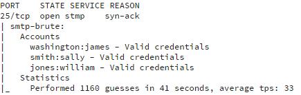 screenshot 2 - Brute Force Mail - script output