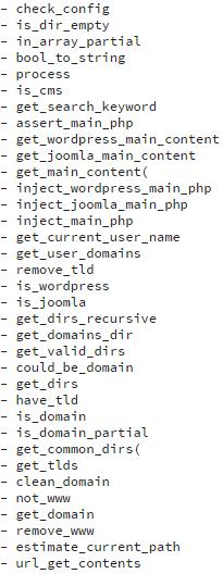 screenshot 4 - malware analysis - 35 functions
