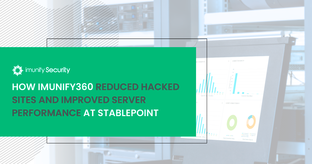 Imunify360 Stablepoint case study