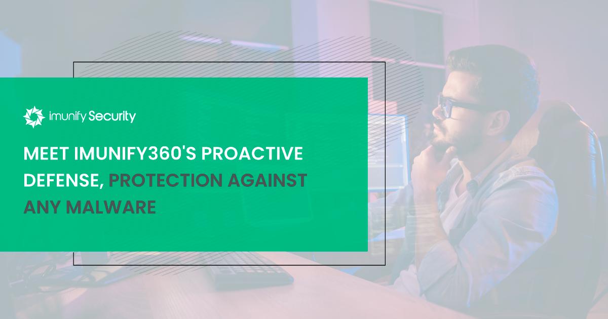 imunify360 proactive defense