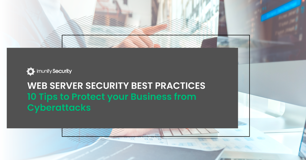 server secuirty best practices: protection from cyber attacks