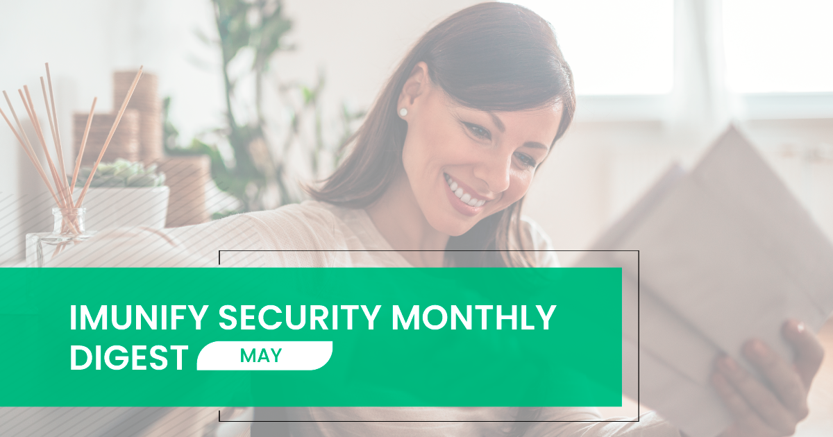 Imunify security monthly digest