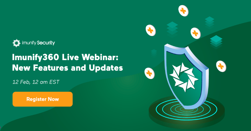 Imunify360 live webinar