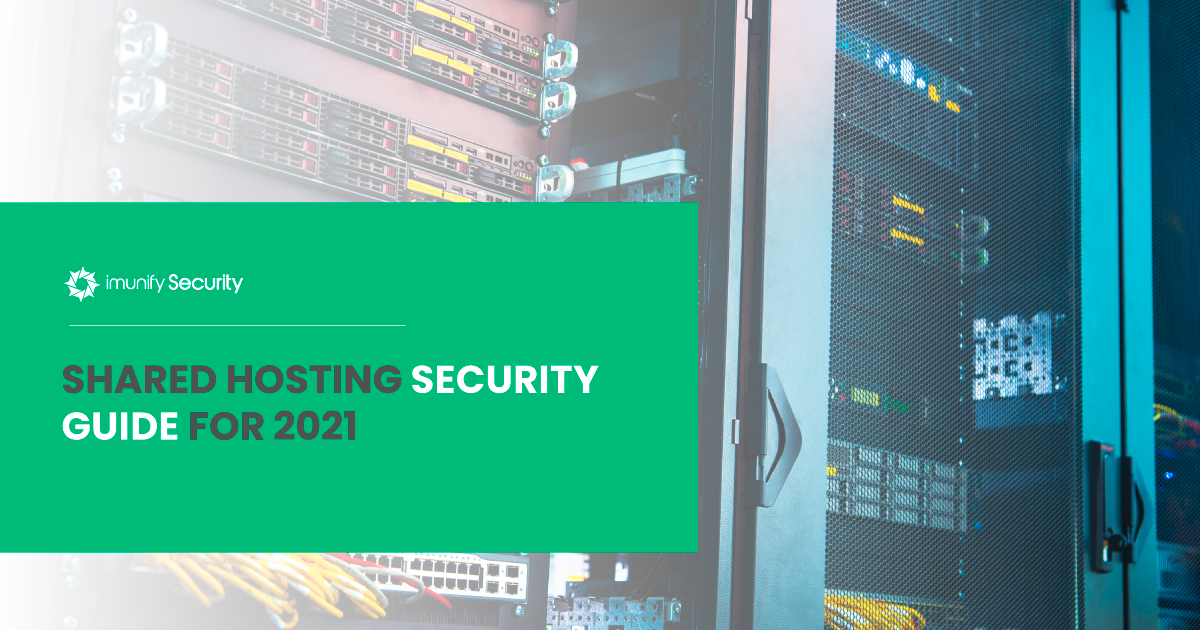shared hosting security guide for 2021